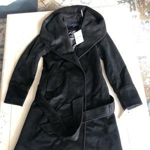 Cole Hann Women's Luxury Wool Asymmetrical Coat